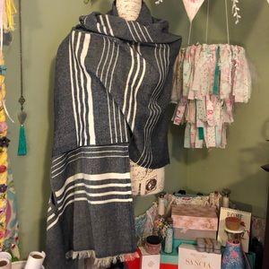 J. Crew Accessories - J Crew shawl with arm holes